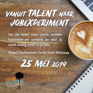 Vanuit Talent naar Jobexperiment - Flyer YCL